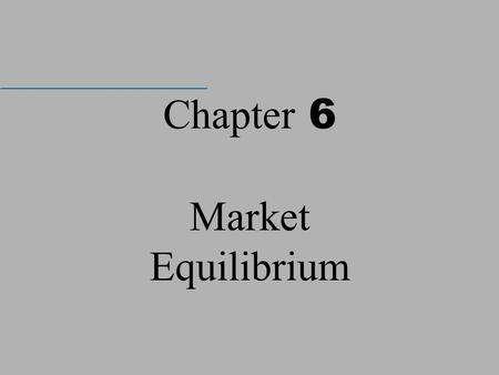 Chapter 6 Market Equilibrium. McGraw-Hill/Irwin © 2004 The McGraw-Hill Companies, Inc., All Rights Reserved. The seminal work of Sharpe (1964) and Lintner.