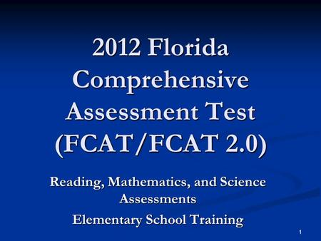 fcat assessment Abebookscom: fcat format weekly assessment - grade 3 (florida treasures) (9780022016517) by macmillan/mcgraw-hill and a great selection of similar new, used and.