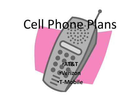 Cell Phone Plans AT&T Verizon T-Mobile. Nationwide Single-Plan.