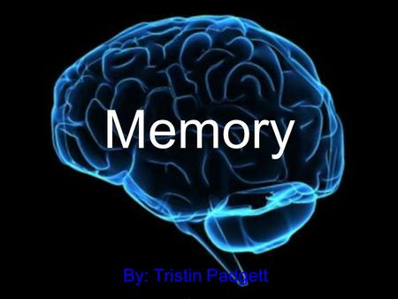 Memory By: Tristin Padgett. Problem What effect does age have on memory?