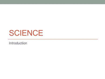 SCIENCE Introduction. 8 th Grade Science  Teacher: Mr. Elliott Alvarado  Conference: 1:05 PM to 1:45 PM   =