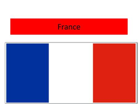 France. CHANNEL ISLAND BIOGRAPHY France, officially the French Republic, is a sovereign country in Western Europe that includes several overseas regions.