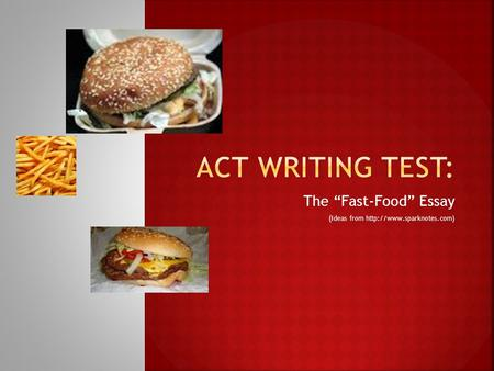 descriptive essay of a fast food restaurant