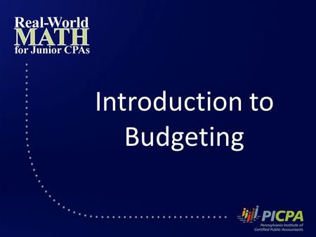 Introduction to Budgeting. Budgeting How much you earn has almost no bearing on whether or not you will build wealth and meet your financial goals.