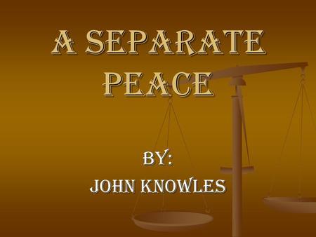 John Knowles Critical Essays