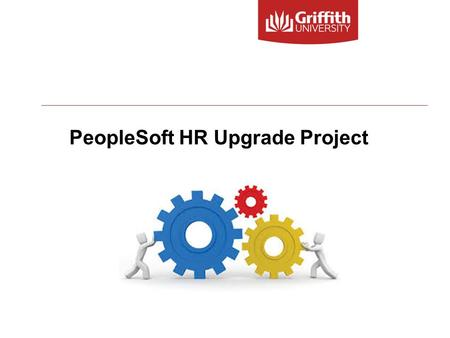 PeopleSoft HR Upgrade Project