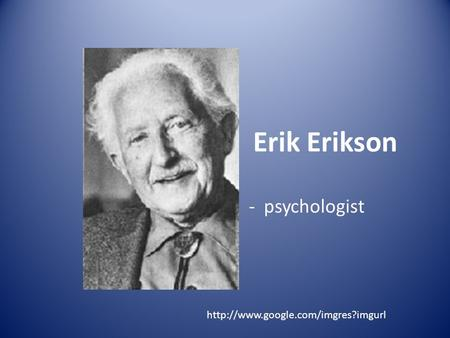 a comparison between freud and erikson essay