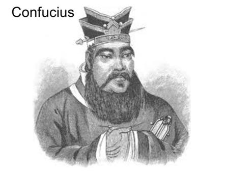 Confucius. Biographical Info. Confucius was born in 550 BC near the city of Qufu. He got through his childhood in poverty by meditating a lot. He was.