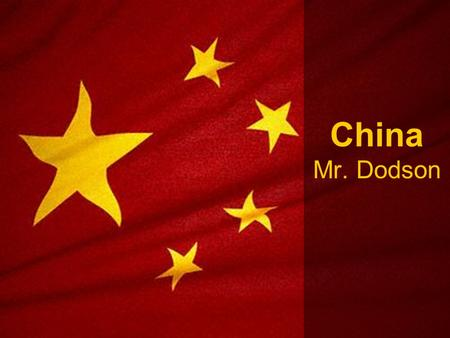 China Mr. Dodson. China acts as a cultural hearth* in East Asia. Most of the region's nations have, at one time, been controlled by China or influenced.