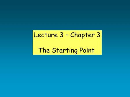 Lecture 3 – Chapter 3 The Starting Point. Science/Research Terminology Variables Variable: Any measurable aspect of behavior or influence on behavior.