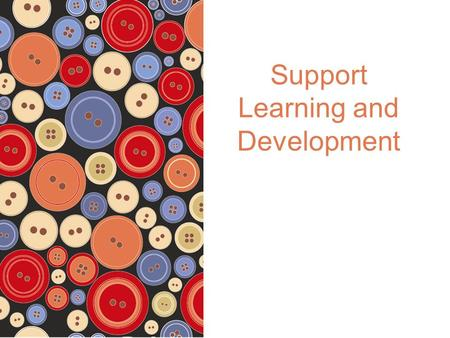 Support Learning and Development. © 2012 Pearson Australia ISBN: 9781442541757 Social and Emotional Competence The periods from 6 to 12 years and 12 years.