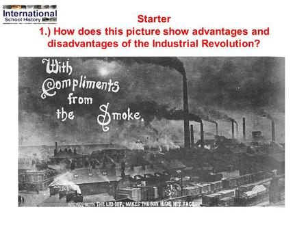 advantages and drawbacks of the industrial Advantages and disadvantages of industries vinish parikh february 17, 2013  industries are necessary for the well being of the people of every country.