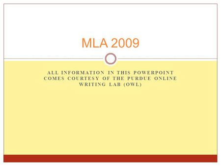 purdue online writing lab mla 1 mla citation style guide as simplified from purdue online writing lab (owl) mla (modern language association.