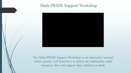 Math PRIDE Support Workshop
