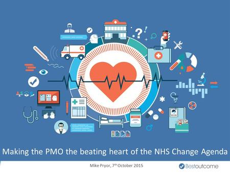 Making the PMO the beating heart of the NHS Change Agenda Mike Pryor, 7 th October 2015.