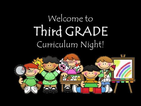 Welcome to Third GRADE Curriculum Night!. ATTENDANCE The school day is from 7:50-3:00. The earliest students may be dropped off is 7:15. Fourth Graders.