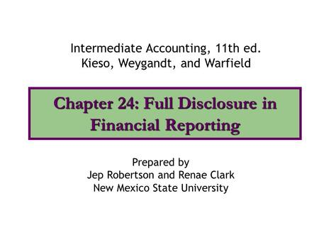 Intermediate Accounting Chapter 19 Solutions Pdf