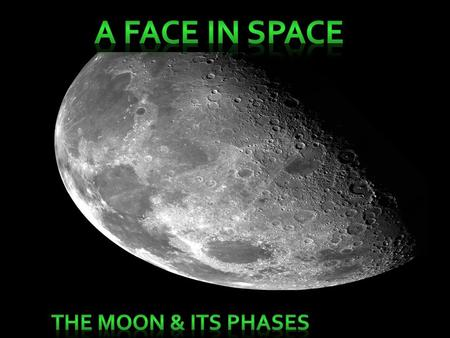 What are the following??? Why can we only see parts of the moons above???