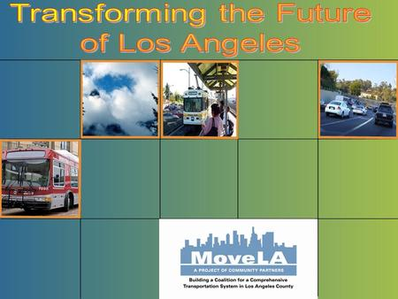 Initiated the discussions that led to Measure R on the November 2008 ballot:  a ½ cent sales tax increase to raise $40 billion for LA County transportation.