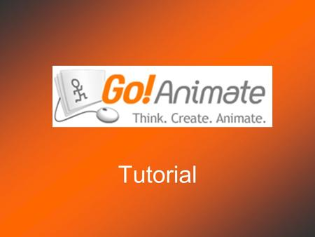 Go Animate Tutorial. Home Sign Up Click Sign Up.