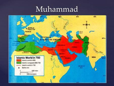 Muhammad. Arabia During Muhammad's Time  Mecca  Trading town only; no agriculture  Popular stopping point for caravans  By 6 th century, Mecca very.