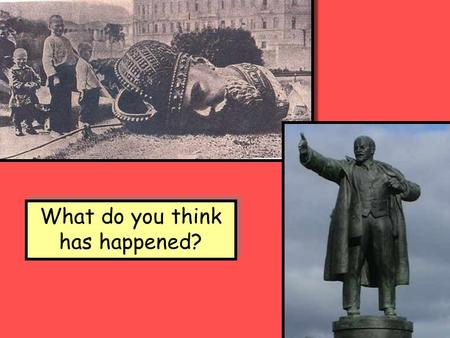 What do you think has happened?. Its all a question of timing! In 1917 Russia was still using the JULIAN calendar. The rest of Europe used the GREGORIAN.
