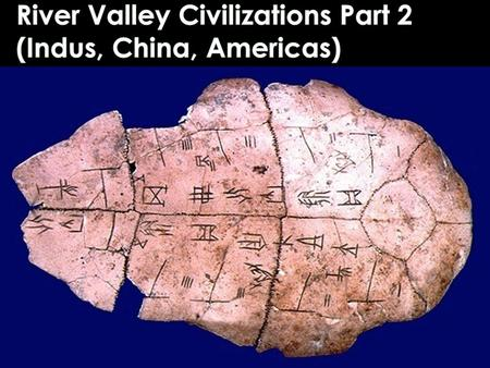 INDUS VALLEY Arose around 2,500 BCE Main Cities Mohenjo Daro Harappa Hundreds of other settlements Independent city-states, strong government Extremely.