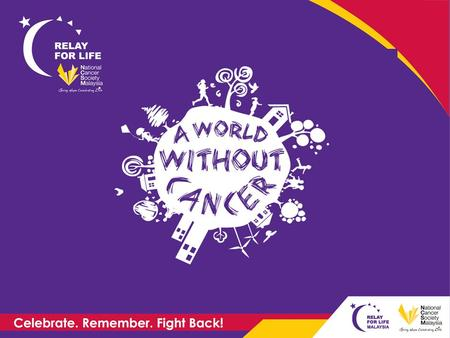 What is Relay For Life? High spirited 16 hours overnight event (sundown to sunrise) Teams of friends, coworkers, family and neighbours take turns to.