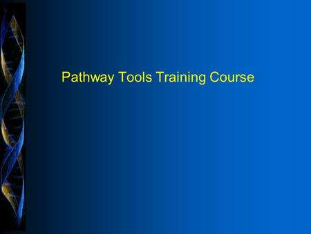 Copyright © 1997 Pangea Systems, Inc. All rights reserved. Pathway Tools Training Course.