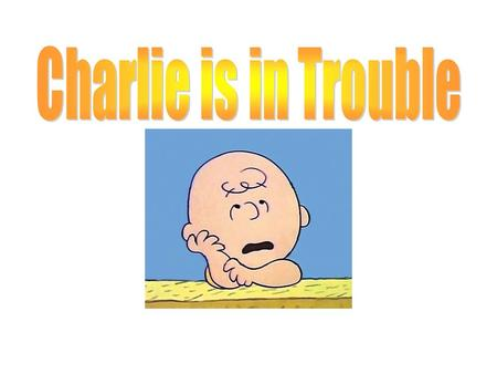 Can you help Charlie Brown? He is not doing a good job being respectful, responsible, safe, and caring. Can you figure out what he is doing wrong and.