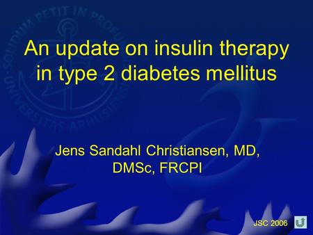 An update on insulin therapy in type 2 diabetes mellitus