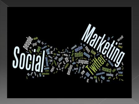 Social Marketing Social Marketing is the use of commercial marketing techniques to help a target population acquire a beneficial health behavior. Becoming.