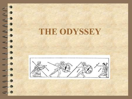 THE ODYSSEY. What is a myth? 4 A story usually concerning some superhuman being or unlikely event that was once widely believed to be true.