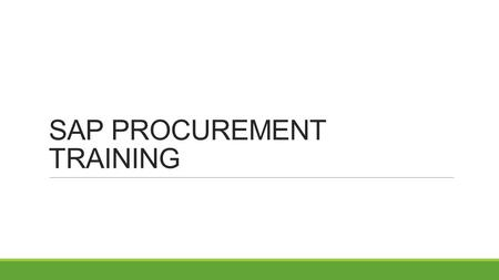 SAP PROCUREMENT TRAINING. Office Depot Purchasing – Master Agreement Using: https://business.officedepot.com/ https://business.officedepot.com/ Contact: