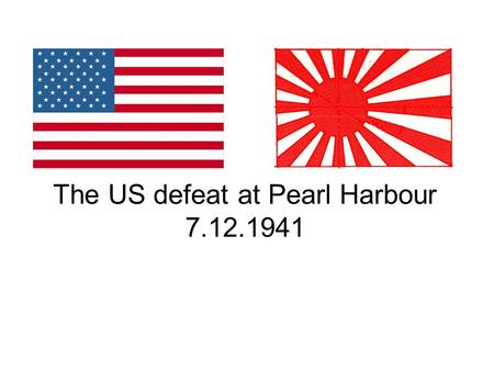 The US defeat at Pearl Harbour 7.12.1941. The Pacific ocean showing the proximity of USA, Japan and Hawaii. Pearl Harbour.