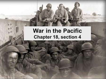War in the Pacific Chapter 18, section 4. JAPAN RULES THE PACIFIC Japanese victories:  Pearl Harbor,  Wake Island,  Clark Air Force Base,  Guam, 