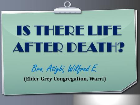 Ihr Logo Bro. Atigbi, Wilfred E. (Elder Grey Congregation, Warri)