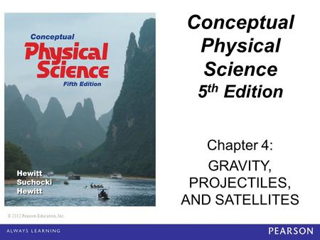 Conceptual Physical Science 5th Edition