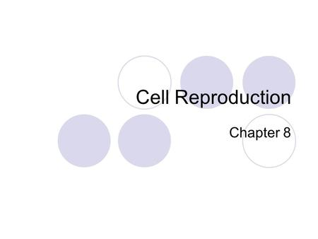 Cell Reproduction Chapter 8. Chromosomes Vs. Chromatin.