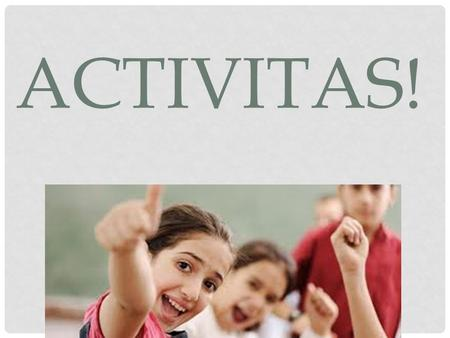 ACTIVITAS!. THE GOSPEL OF JOHN 1.Read your assigned chapter of John 2.In groups, make a poster outlining the main topic and events, and list all the doctrinal.