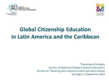 Global Citizenship Education in Latin America and the Caribbean