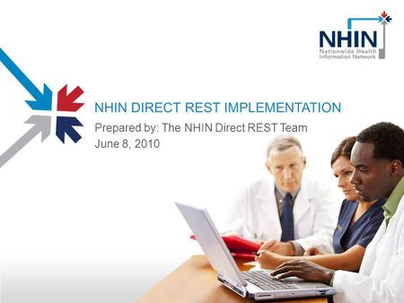 NHIN DIRECT REST IMPLEMENTATION Prepared by: The NHIN Direct REST Team June 8, 2010.