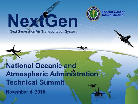 NextGen Next Generation Air Transportation System