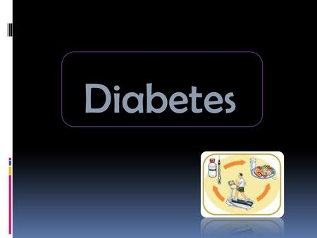 Diabetes. Diabetes mellitus, or simply diabetes, is a group of metabolic diseases in which a person has high blood sugar, either because the body does.