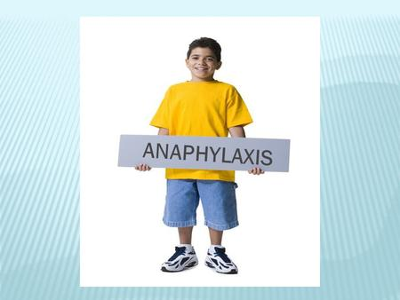 ANAPHYLAXIS. WHAT IS AN ALLERGY? Allergies occur when the immune system becomes unusually sensitive and overreacts to common substances that are normally.