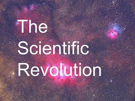 a history of people and discoveries in the scientific revolution The scientific revolution definition - concept - history professor robert a hatch - university of florida.