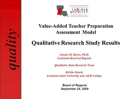 Dissertation Proposal Qualitative