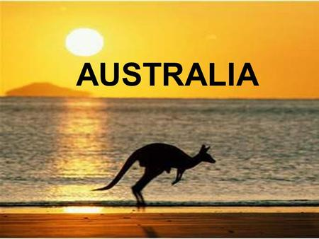 AUSTRALIA. As of 2015, Australia has an estimated population of over 22 million people. Australia is the world's 6th largest country by area. The largest.