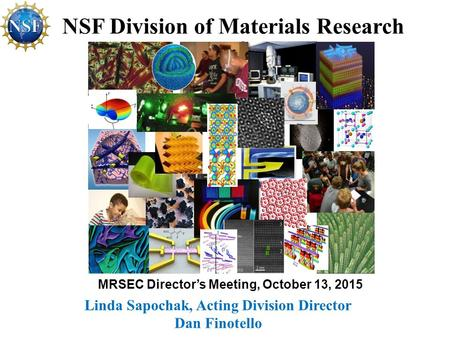 NSF Division of Materials Research
