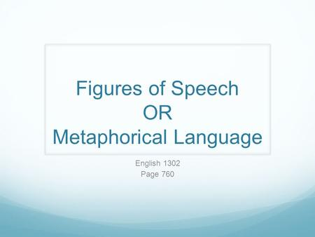 importance of figures of speech pdf